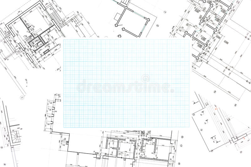Blue grid graph paper with blueprints background stock photo download blue grid graph paper with blueprints background stock photo image of drawing closeup malvernweather