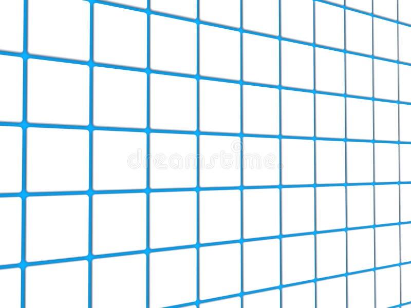 Blue grid lines. Background of blue grid lines stock image