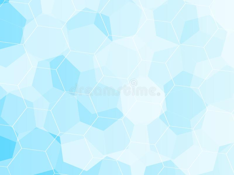 Blue Grid Mosaic Background, Creative Design Templates. vector illustration