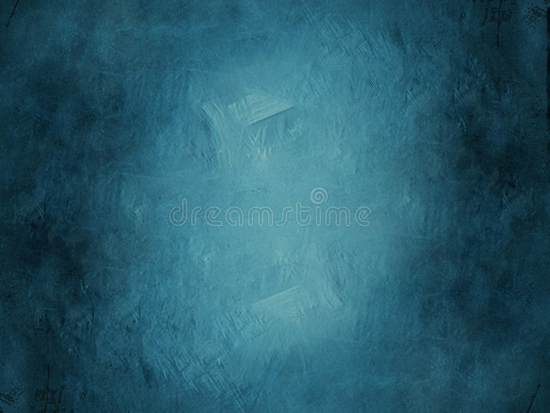 Blue Grunge Background. A blue colored rough textured grunge background royalty free illustration