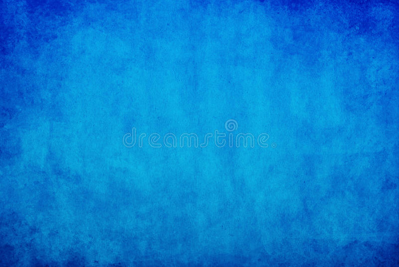 Blue grunge background. Blue grunge deep ocean background stock illustration