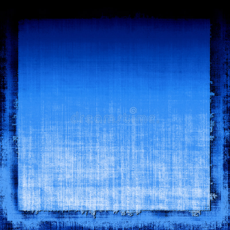Blue Grunge Fabric stock photo