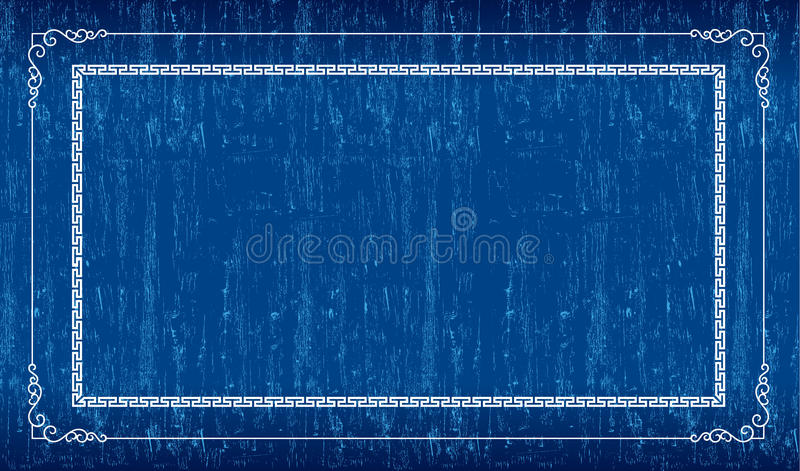 Download Blue grunge frame stock vector. Illustration of blank - 26246679