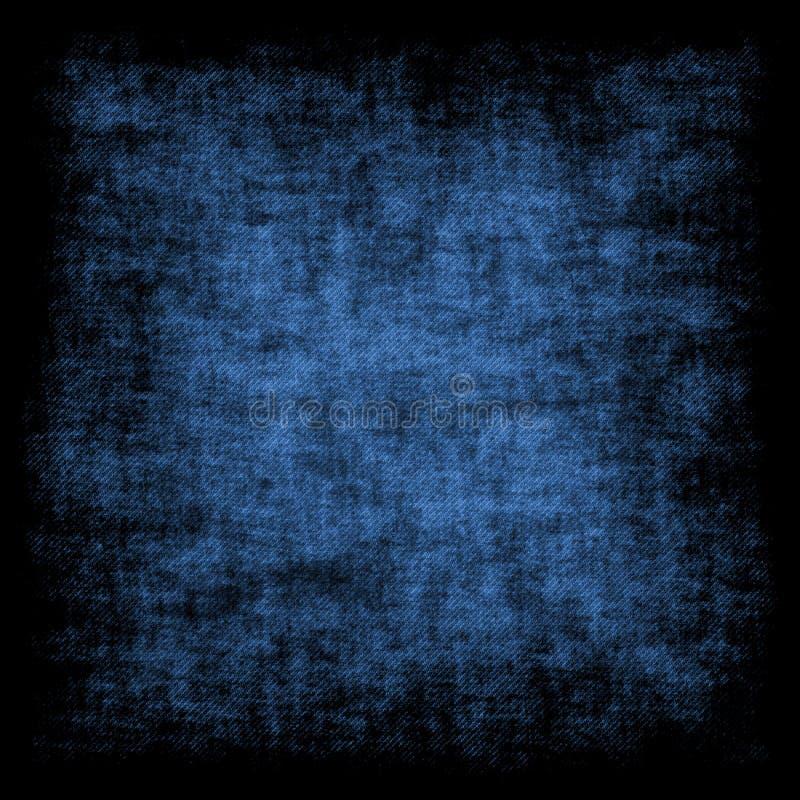 Blue grunge retro background royalty free stock photography