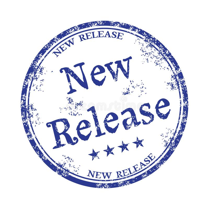 New release rubber stamp stock images