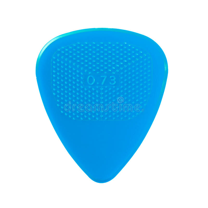 Free Blue Guitar Plectrum Royalty Free Stock Photography - 12093457