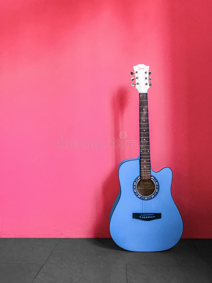 820 Blue Guitar Wall Photos Free Royalty Free Stock Photos From Dreamstime