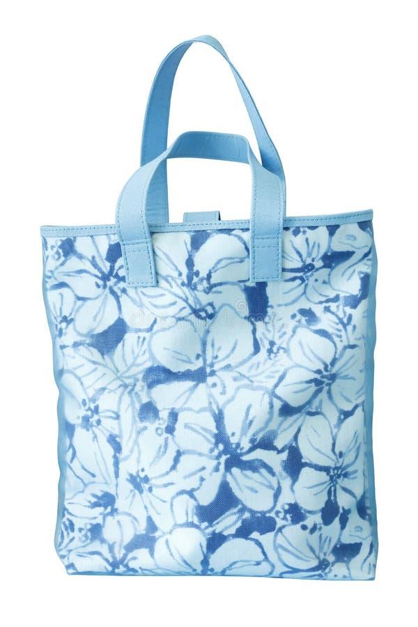 Blue handbag stock image