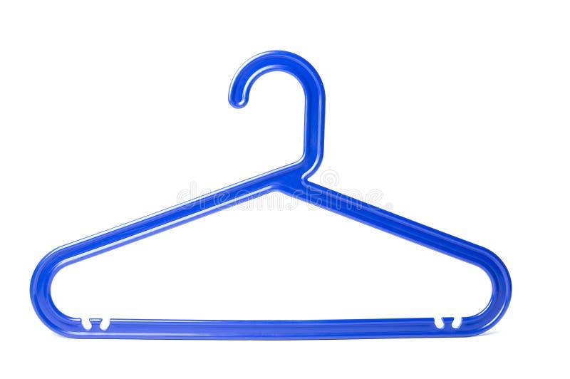 Blue hanger royalty free stock photo
