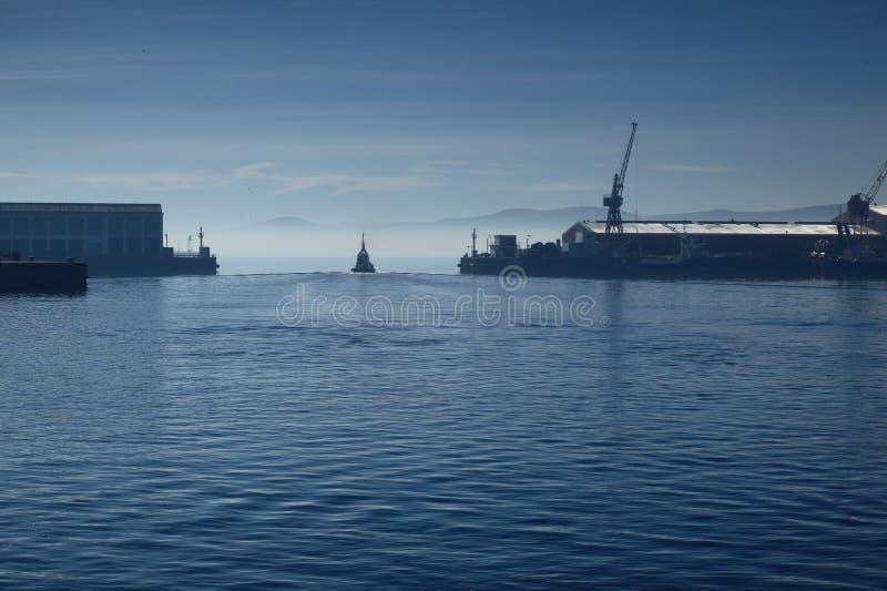 Download Blue harbor stock image. Image of ship, sailing, harbor - 27975083