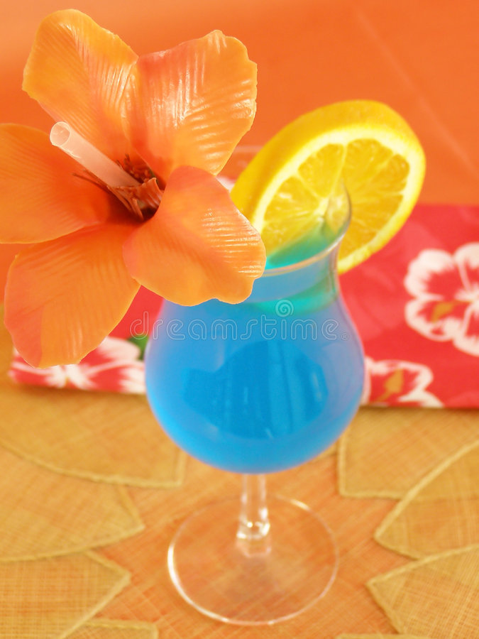 Download Blue Hawaiian stock image. Image of drink, hurricane, fancy - 2300531