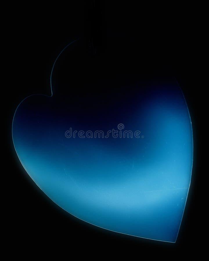 Download Blue Heart stock illustration. Illustration of love, colours - 100535