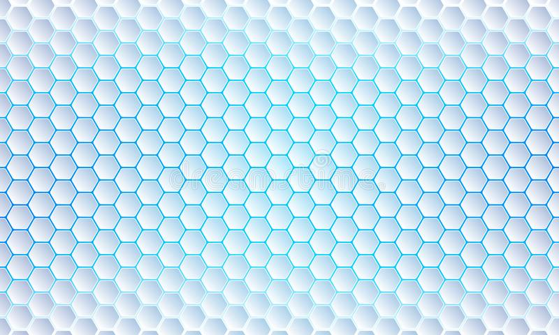 Blue Hexagon background, modern abstract, futuristic geometric vector background vector illustration