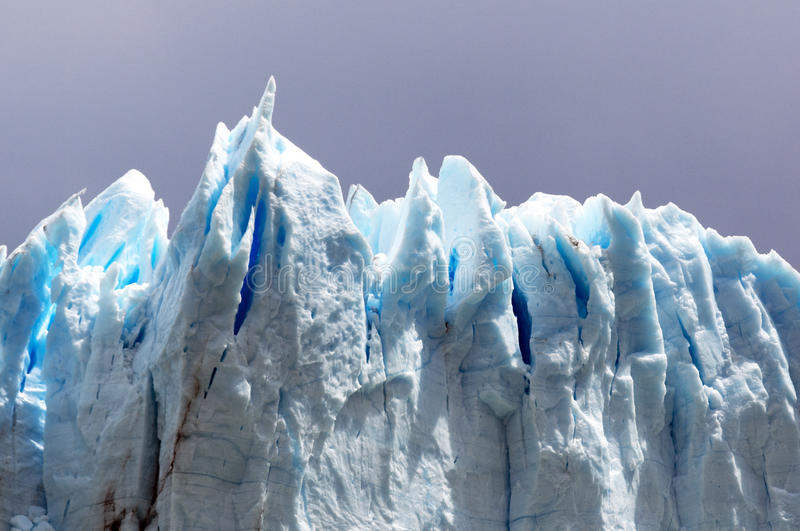 Download Blue ice stock image. Image of holes, moreno, iceberg - 23431075