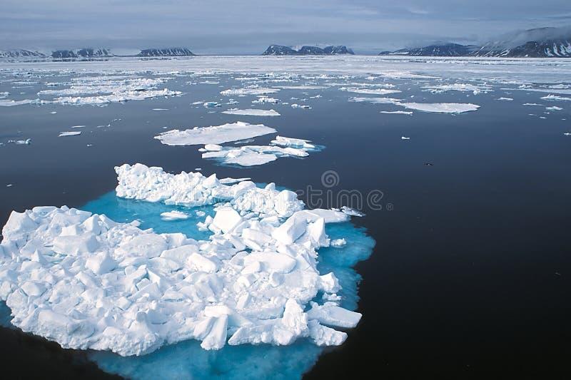 Blue Ice Royalty Free Stock Photos