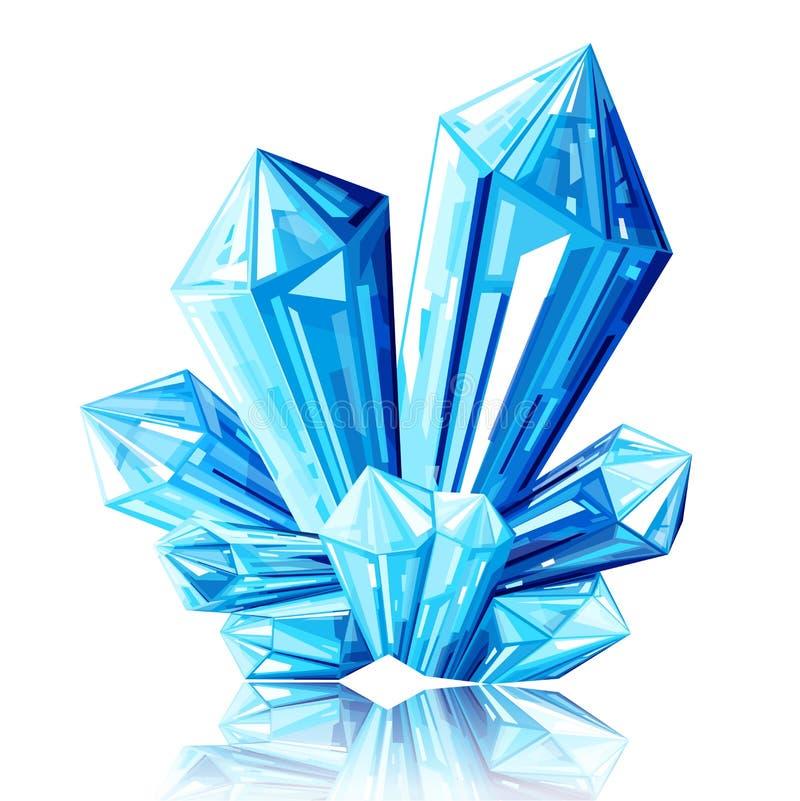 Ледяной кристалл рисунки