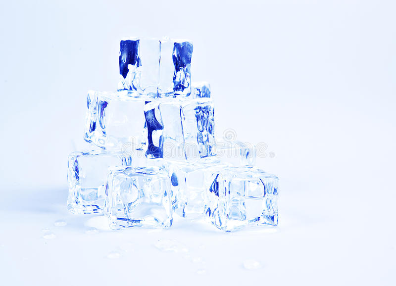 Download Blue ice cubes stock image. Image of cube, cold, pile - 19393757