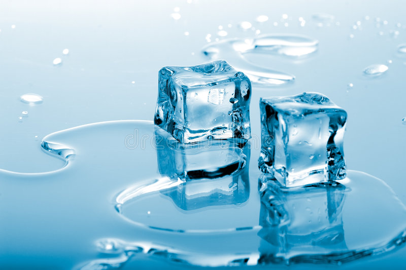 Download Blue ice cubes stock photo. Image of isolated, cool, bubbles - 2004558