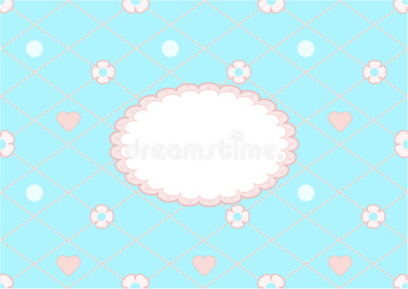 Download The  blue icon stock illustration. Image of floral, line - 30782266