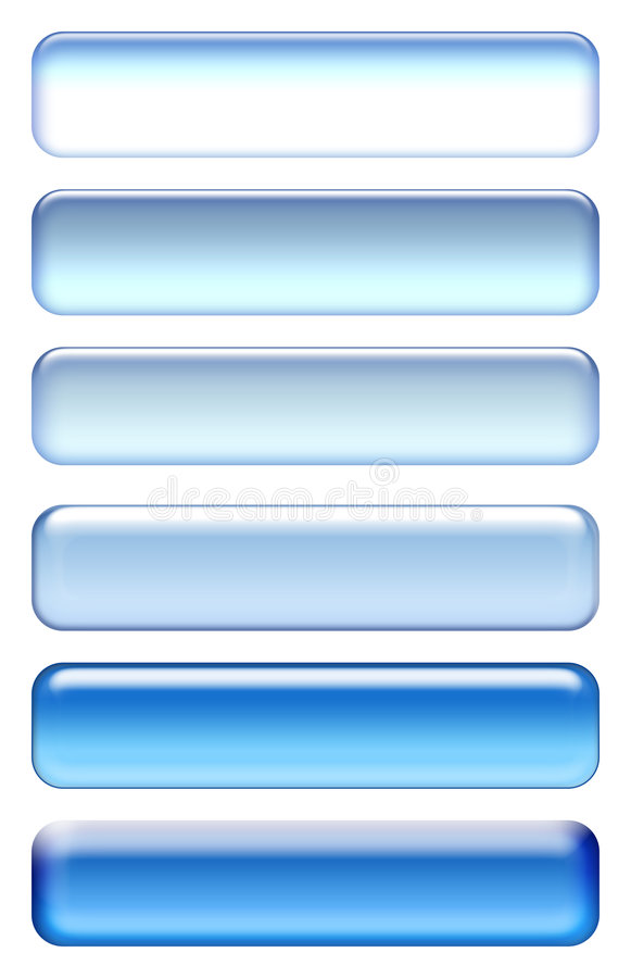 Blue icons. Blue icon set isolated on white