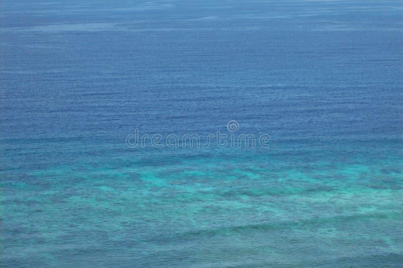 Blue Indian Ocean. Sea, water, riffels,waves stock photos