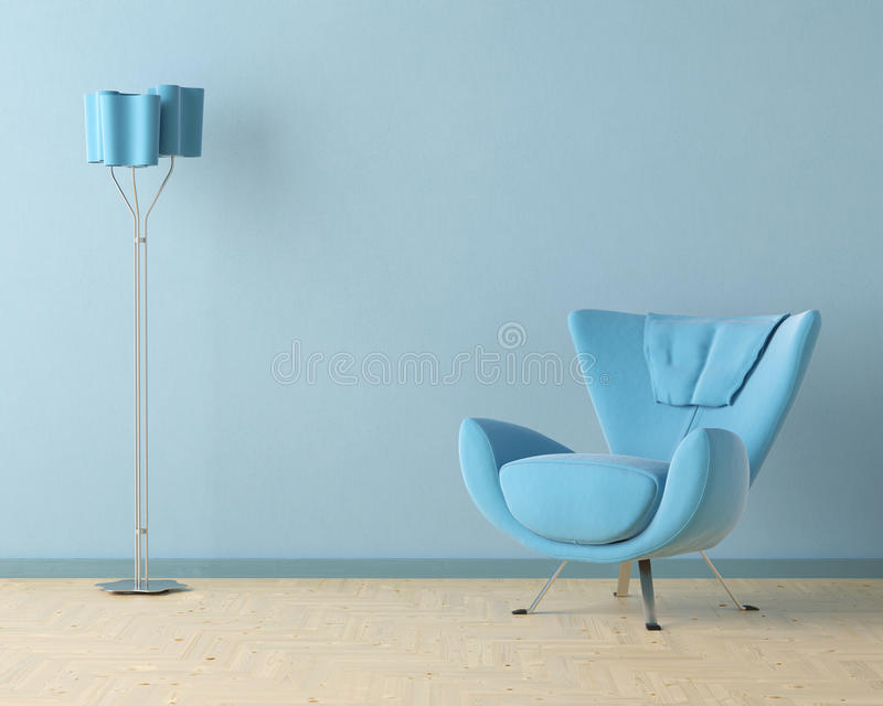 Download Blue Interior Design Scene Stock Images - Image: 15840324