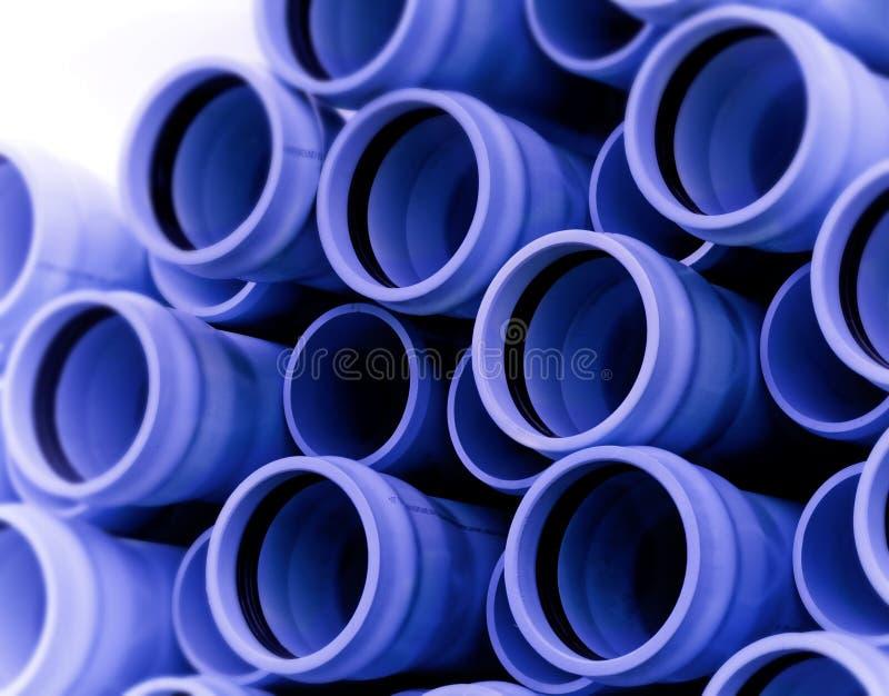 Blue Irrigation Pipe