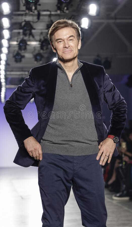 Blue Jacket Fashion Show 2020 stock images