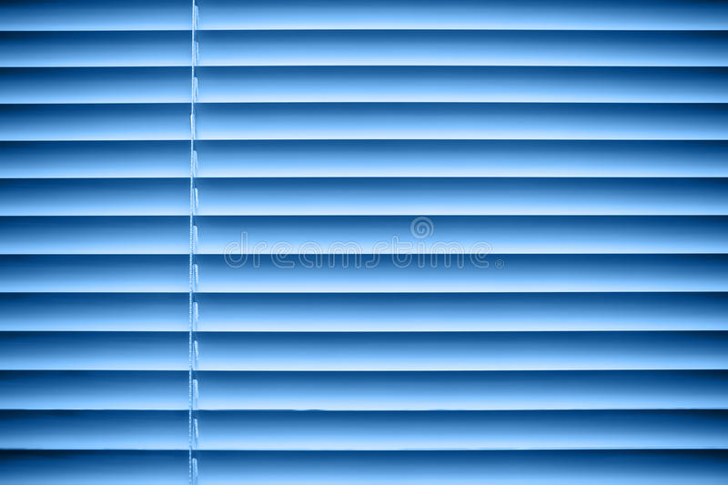 Blue jalousie royalty free stock photo