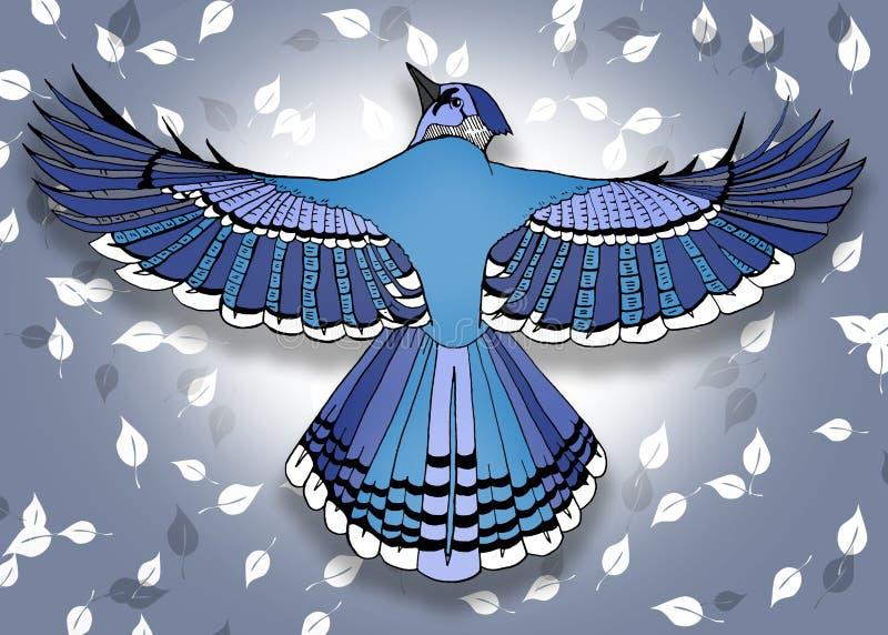 Bird line art royalty free stock photography