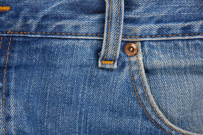 Blue Jean Detail stock images