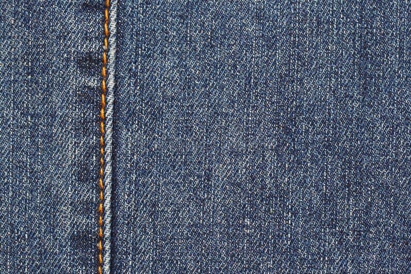 Blue Jean Detail Royalty Free Stock Photo