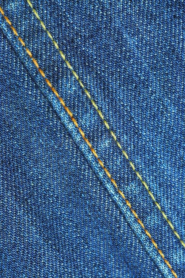 Blue jean seams