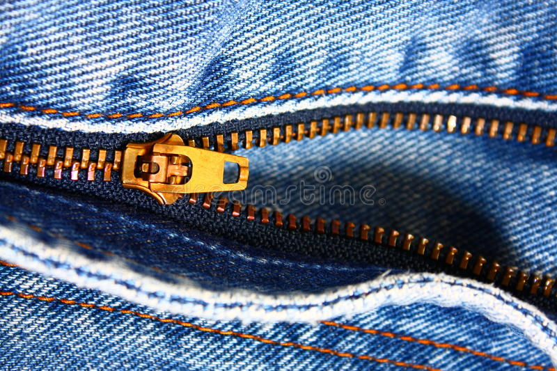 Download Blue Jean Zipper stock photo. Image of clothing, fabric - 15353398