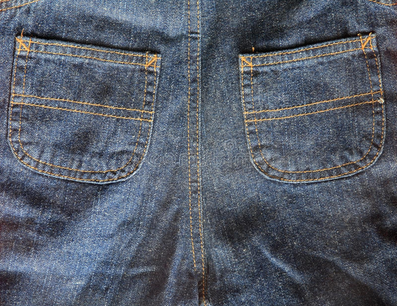 Download Blue Jeans With Back Pockets Stock Illustration - Illustration of macro, clothes: 43427839