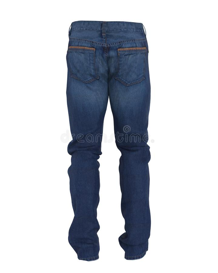 Blue Jeans Isolated royalty free illustration