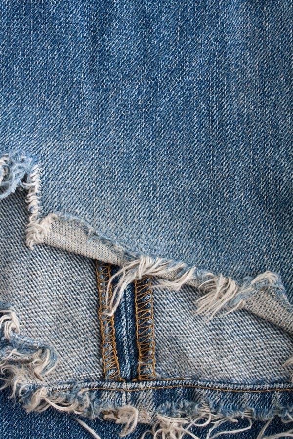 Blue jeans violente fotografie stock libere da diritti