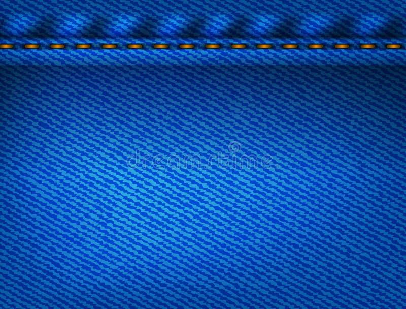 Download Blue Jeansbeschaffenheit vektor abbildung. Illustration von rauh - 27730104