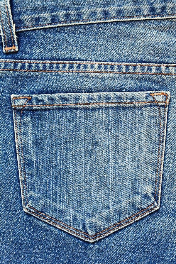 Blue Jeanstasche. lizenzfreie stockbilder