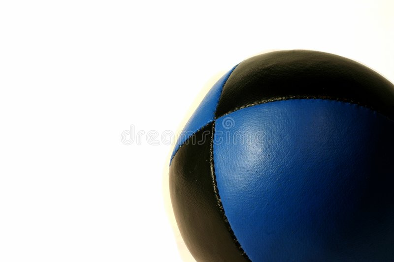 Download Blue Juggling ball stock photo. Image of relax, play, white - 592208