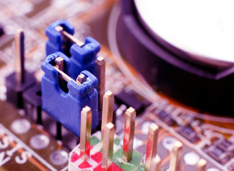 Download Blue jumper stock photo. Image of technology, blue, board - 5605808