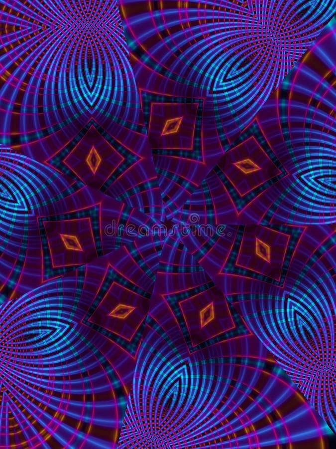 Free Blue Kaleidoscope Stripes Stock Photos - 1933783