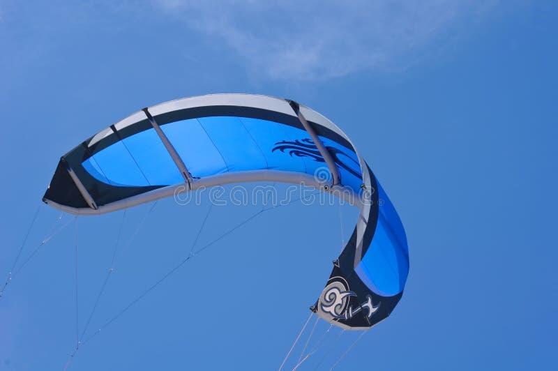 Blue kite royalty free stock photos