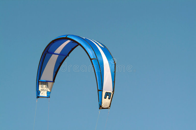 Blue kite royalty free stock photo