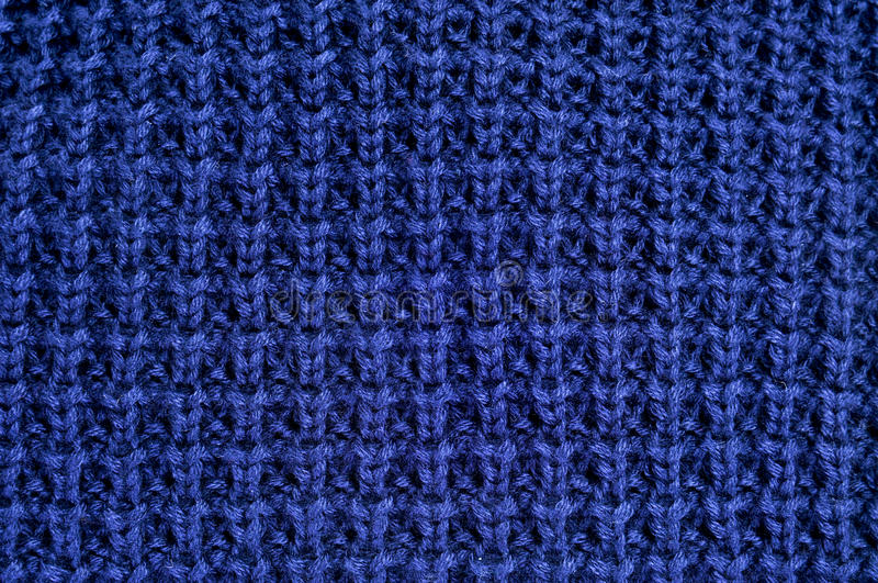 Download Blue knitted fabric stock image. Image of knitwear, pattern - 22982215