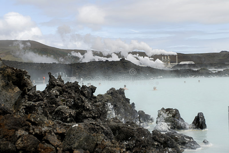Download Blue Lagoon Stock Photo - Image: 1408690
