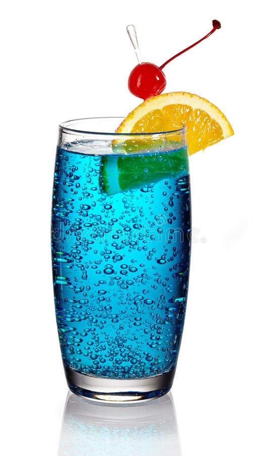 Blue lagoon cocktail  Blue lagoon cocktail stock image. Image of alcohol, beach - 33953543