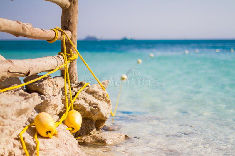 Blue lagoon rocky beach details. Tropical beach. Sky and sea. Beautiful summer landscape. Travel holiday concept stock photos