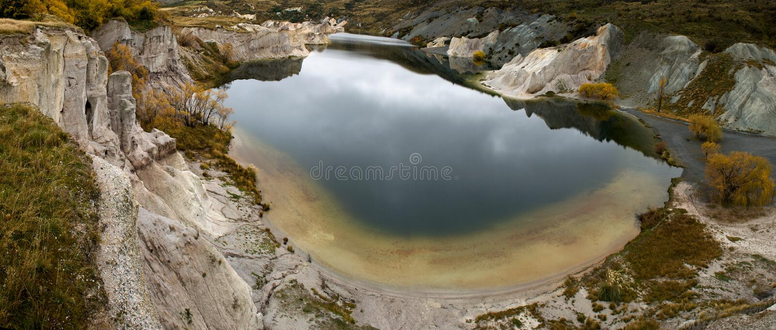 Download Blue lake stock photo. Image of panoramic, cloud, beauty - 21192554