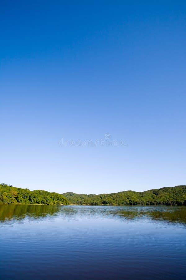 blue & lake royalty free stock photography